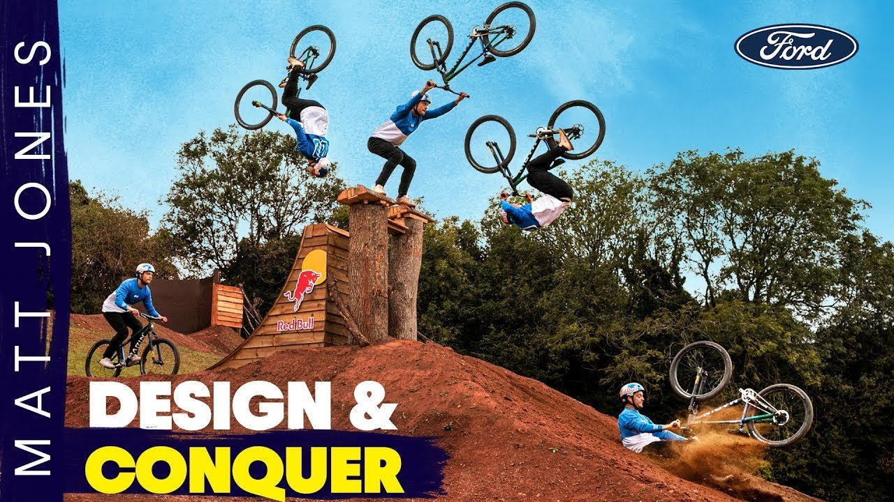 MTB Flips for the History Books | Matt Jones Design & Conquer in partnership with Ford EP4