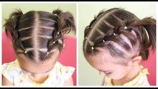 Peinados faciles para niña de pelo corto
