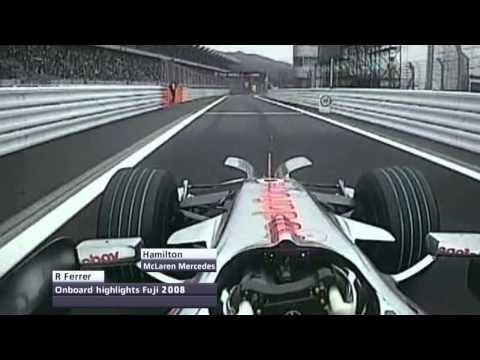F1 Onboard Highlights | F1 2008 - R16 - Japanese Grand Prix