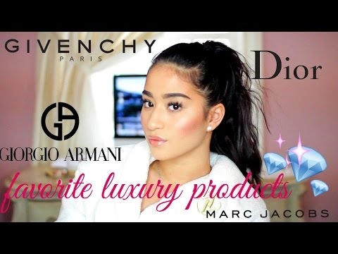 TOP 4 FAVORITE LUXURY PRODUCTS FT. GIVENCHY CHRISTINA ROSE