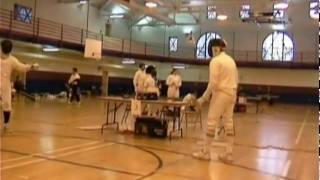 Dan Cantillon Fencing 2003 bout 3.avi