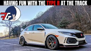 Honda Civic Type R (FK8) At the TRACK going HARD!
