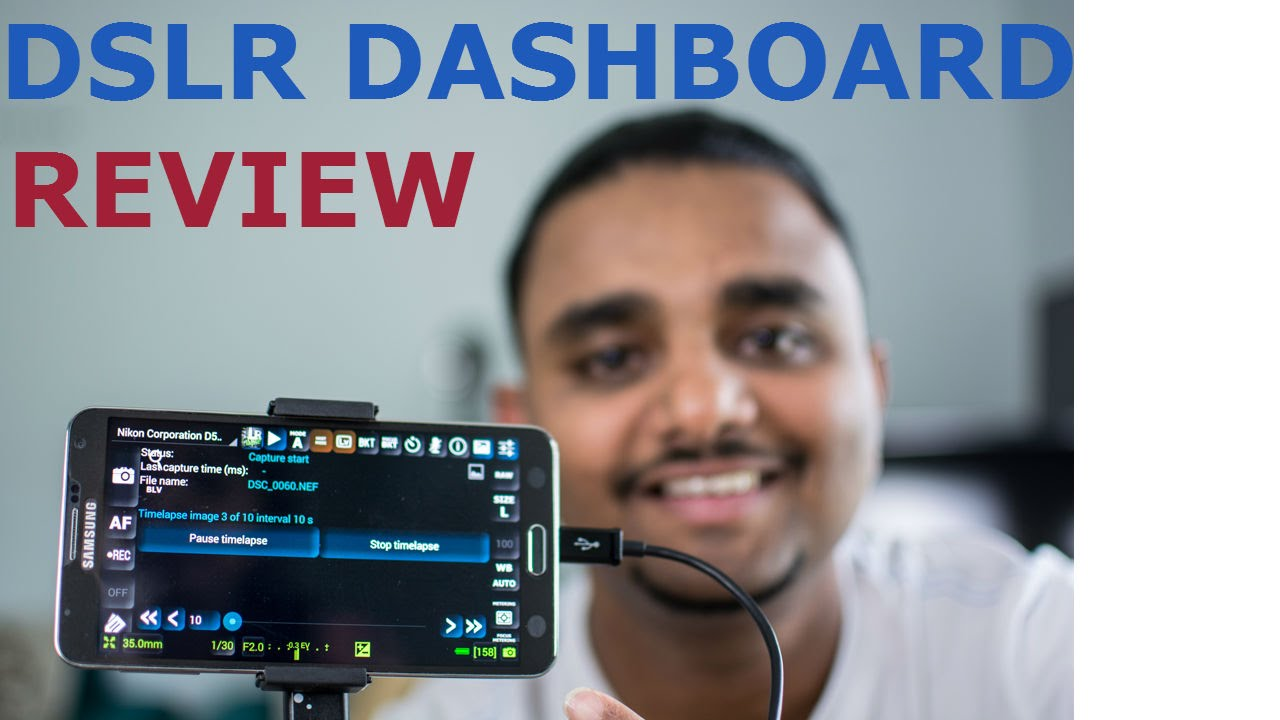 Dslr dashboard free app