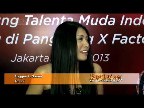 Di Jakarta, Anggun C Sasmi Rajin Yoga