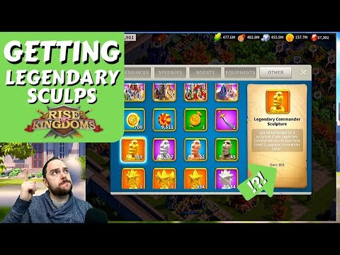 How we gained ~473 legendary commander sculptures in 36 days   Rise of Kingdoms