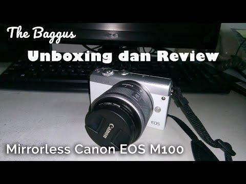 Unboxing dan Review Mirrorless Canon EOS M100 - Kamera kecil tapi powerful!