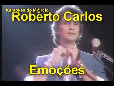 Roberto Carlos - Emoções - Karaoke