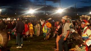 TAOS PUEBLO POW WOW 2019 DAY 2  EVENING-  Intertribal