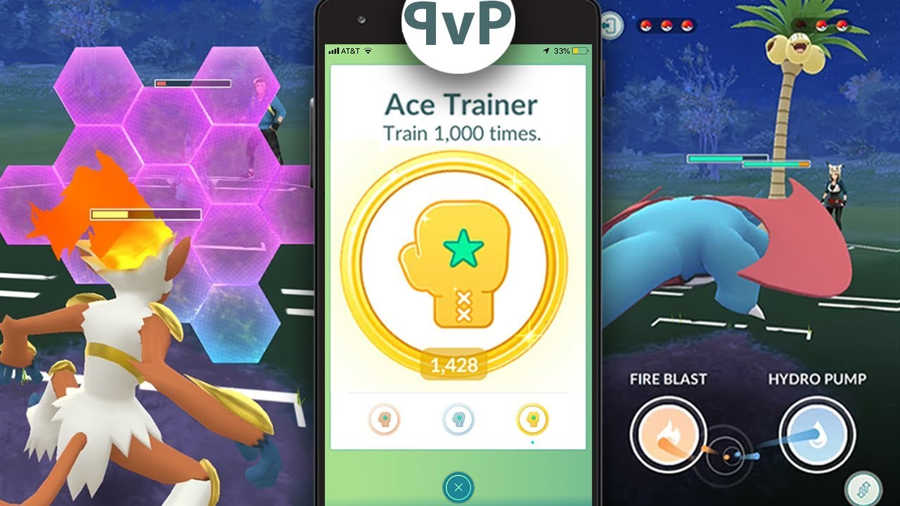 WOW! PVP DETAILS RELEASED - 2 CHARGE MOVES, ACE TRAINER, REWARDS, SHIELDS +  MORE in Pokemon Go