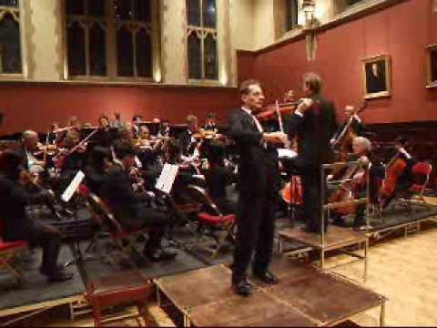 Beethoven Romance in F- Vaughan Jones Violin - OCMS orchestra