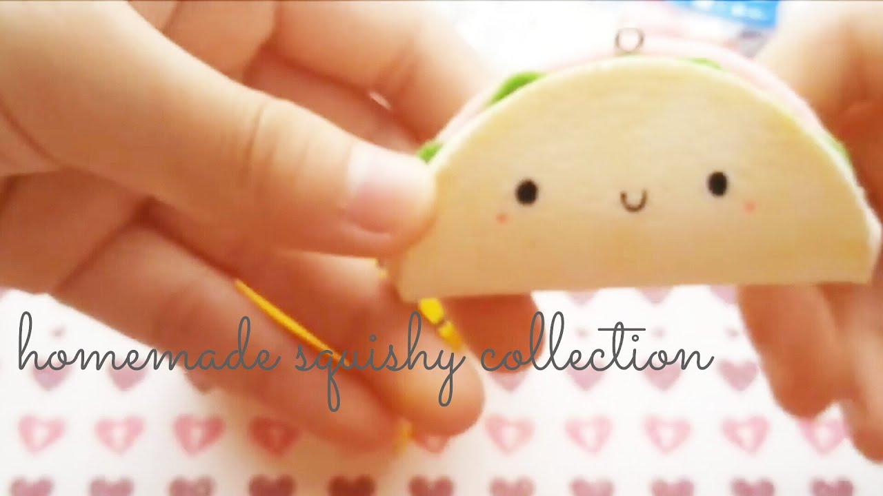 Homemade squishy collection 2013 youtube for Squishy ideas