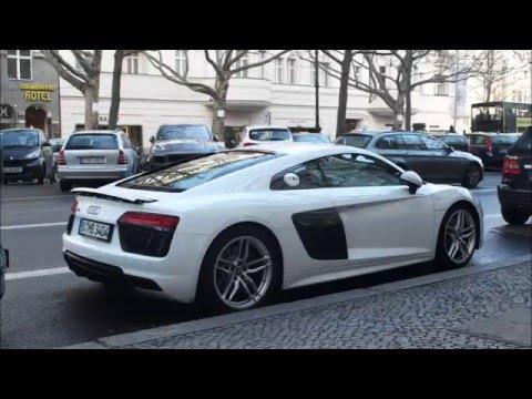 Brand New White Audi R V YouTube - White audi r8