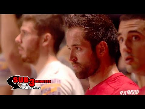 Sub 3 Minutes Post-Berlin with Rich Froning