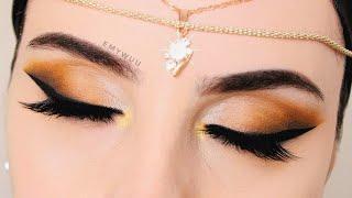 ARAP TARZI Göz Makyajı  Arabic Eye Makeup