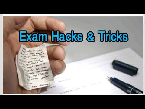 New Exam Tricks And Cheating Methods
