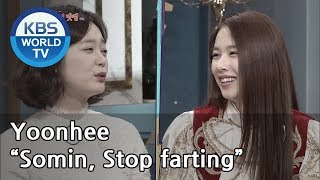 """Yoonhee """"Somin, Stop farting""""[Happy Together/2019.03.14]"""