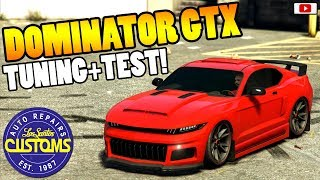 😍🛠Bestes Neues Muscle Car! DOMINATOR GTX Tuning + Test!😍🛠 [GTA 5 Online Sport Series Update DLC]