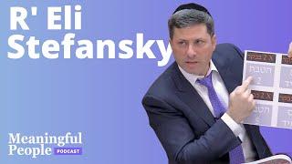 8 Minute Daf - R' Eli Stefansky   Meaningful People #50