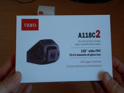 New 2017 Viofo A118C2 Vs A118C Dash Cameras Unboxing