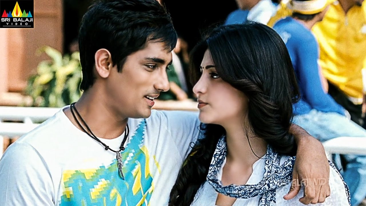 Oh My Friend Movie Siddharth Sruthi Hasan Friendship Scene