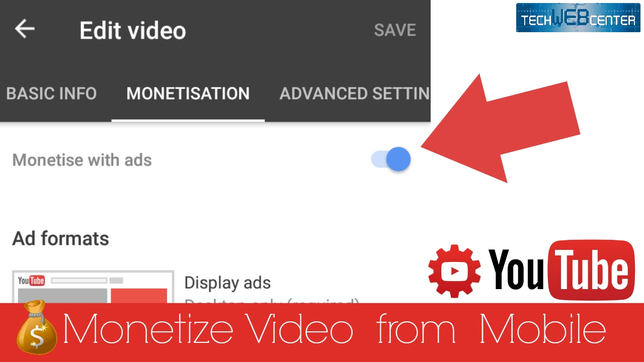 Youtube creator studio how to monetize video from mobile app youtube creator studio how to monetize video from mobile app ccuart Images