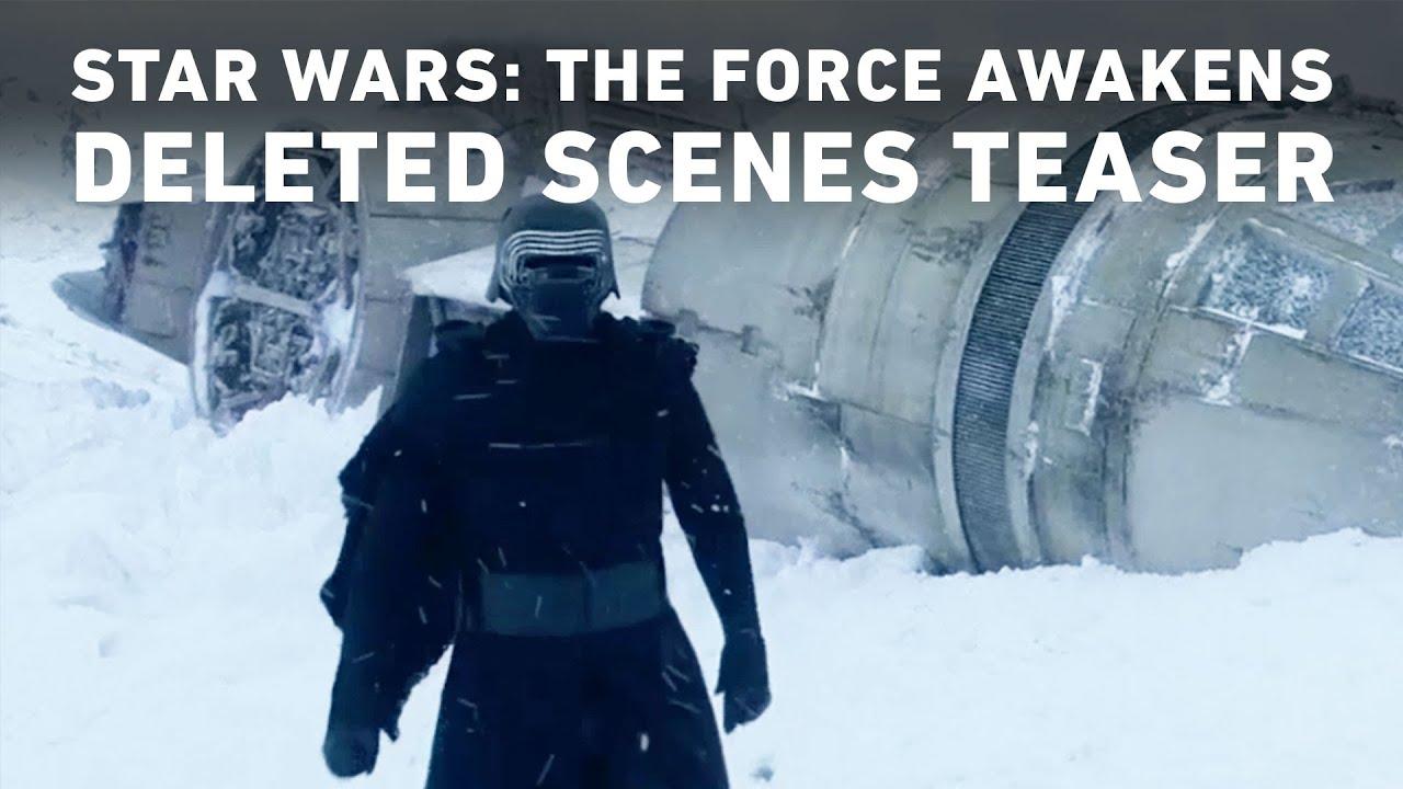 star wars the force awakens deleted scenes teaser youtube. Black Bedroom Furniture Sets. Home Design Ideas