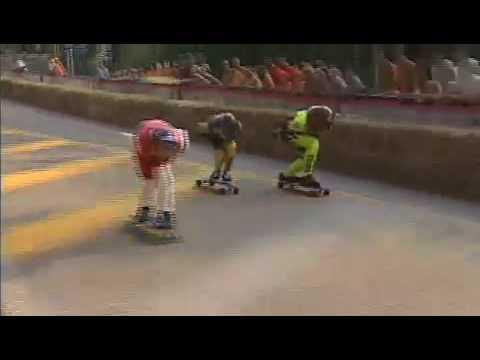 gravity games 2002 downhill skateboarding final 4 man youtube