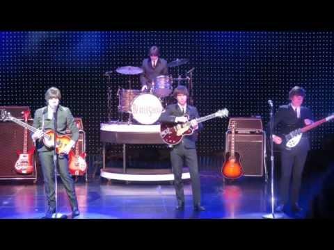Las Vegas Beatles Show + Dancing Girls!