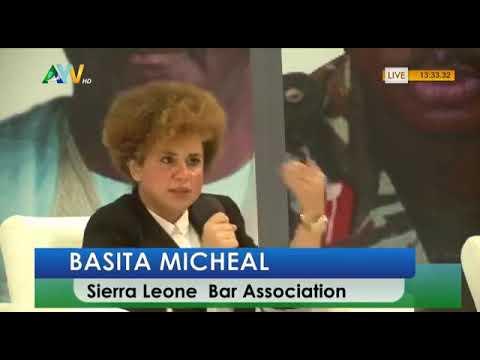 Salone 2019: Basita Michael - President of Sierra Leone Bar Association View on Peace