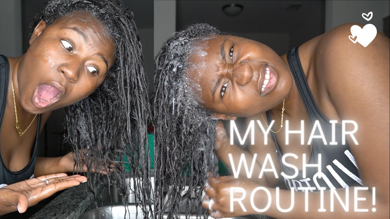 HOW TO WASH  NATURAL HAIR ROUTINE AND TIPS | BREAKAGE OR HEALTHY | IAMJUSTAIRI