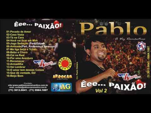 Pablo - A Voz Romântica - Volume 2 - CD 2011