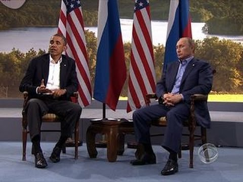 Syria tensions make for chilly meeting between Obama, Putin