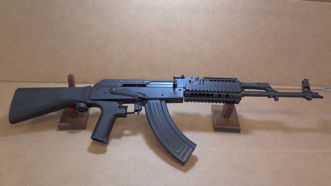 Wasr 10 AK-47 with Graphite Black Cerakote