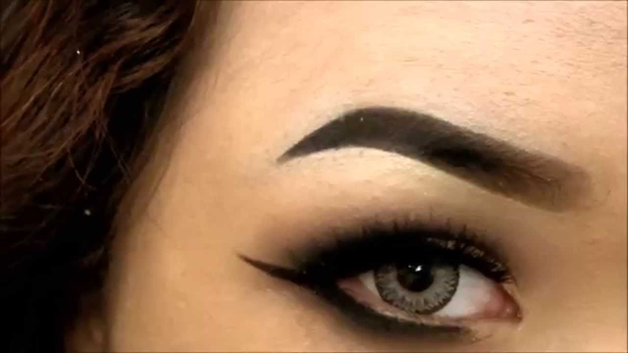 Dark Eyebrow Tutorial Youtube
