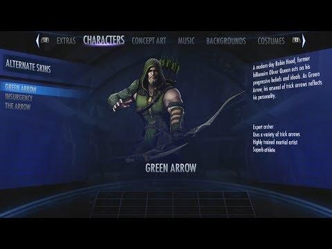 Injustice: Gods Among Us Arcade Mode Part 12: Green Arrow