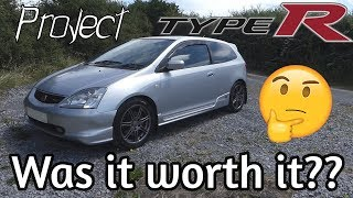 Everything Wrong With My Cheap Civic Type R #2 thumbnail