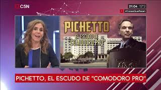 """Pichetto, el escudo de """"Comodoro Pro"""", atornillado en el Consejo de la Magistratura"""