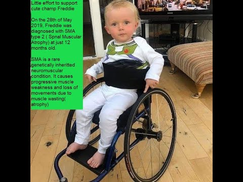 Crowd Fundraiser for little Freddie and to raise the awareness of Spinal Muscular Dystrophy.