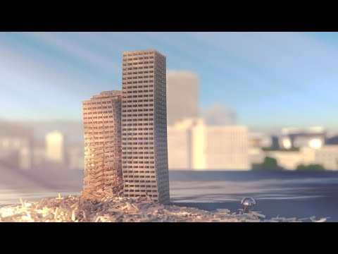 Realistic Tower Fall Simulations
