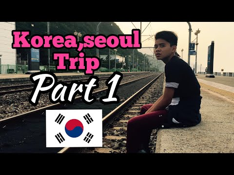 Cidrick Lim's Fantastic Travel :Amazing South Korea Seoul vlog part 1
