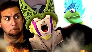 SO MANY ARTEMIS VIDEOS!! | Kaggy Reacts to Perfect Cell VS Super Froggy Blue Part 2, Cooler & MORE