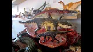 The Dinosaur and other Prehistoric Animal Figure Files 10 DIORAMA FOR CRUROTARSI