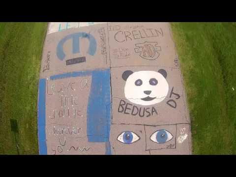 Chanute High School-Street Art Chanute, Ks