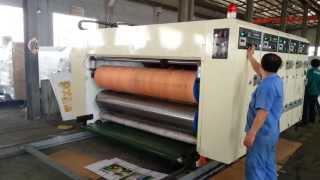 Полуавтоматическая линия для производства гофротары SKIF 4560-2000(Линия для производства заготовок гофрокоробов модели SKIF предназначена для нанесения многоцветной флексоп..., 2013-06-07T08:59:08.000Z)