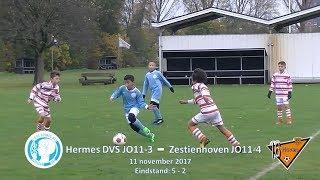 Samenvatting Hermes DVS JO11-3 -  Zestienhoven JO11-4