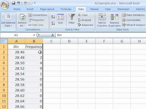 how to make x axis scale in excel