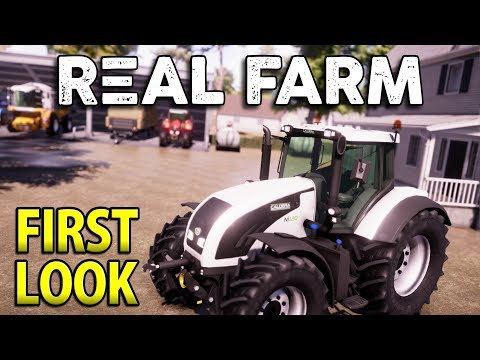 REAL FARM | First Look Gameplay
