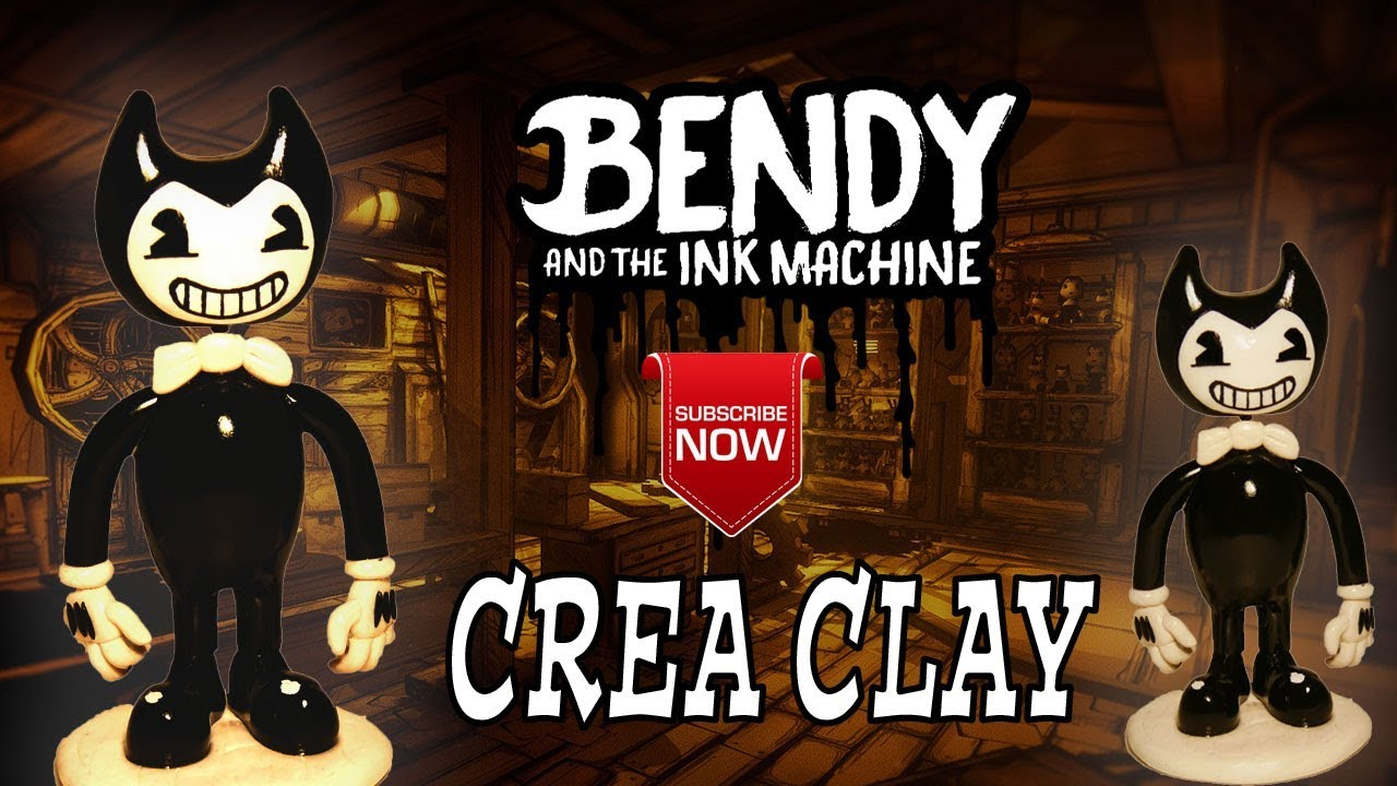 How To Make Bendybendy And The Ink Machine Polymer Claypâte