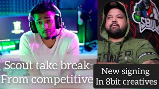 Godly bhai abused by t1player  Scout quit competitive after 1 year 8bit new signing Punk salary