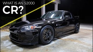 What is a Honda S2000 CR?